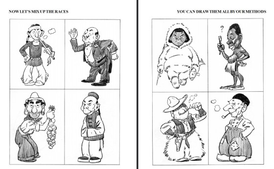Loomis depictions of other races